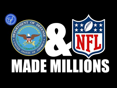 WHY THE DEPT. OF DEFENSE PAID THE NFL MILLIONS