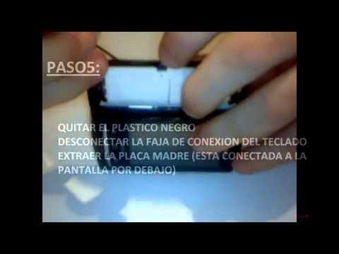 Tutorial desmontar Sony Ericsson Xperia X10 Mini Pro U20