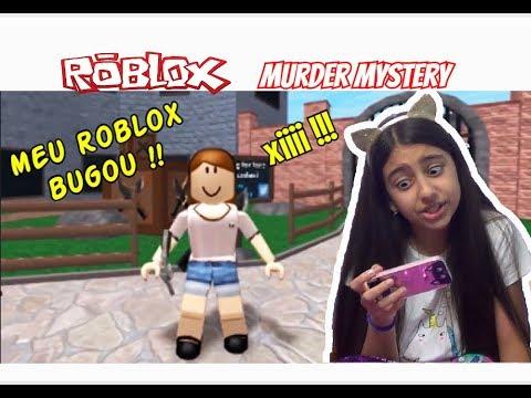 ROBLOX  - MURDER MYSTERY - MEU ROBLOX BUGOU !! - Julia Games