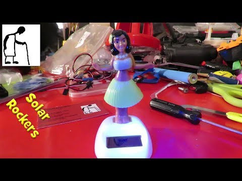 A Peek Inside The Solar Powered Wobbling Hula Girl For Mortthemoose