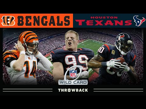[Highlights] Watt Delivers Texans' FIRST Playoff Win! (Bengals vs. Texans, 2011 AFC Wild Card)