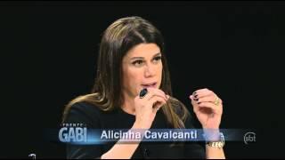 De Frente com Gabi (01/06/14) - Gabi recebe Alicinha Cavalcanti - Parte 3