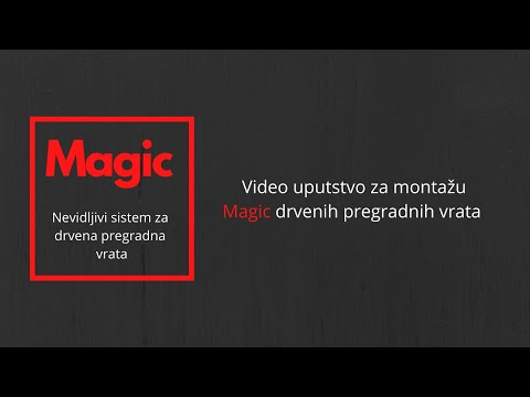 Magic - Uputstvo za instalaciju