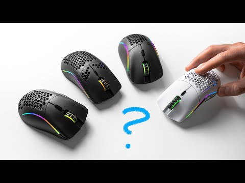 All Glorious Wireless Mice Tested - Model O, O-, D, D-