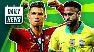 Cristiano Ronaldo schießt 700 Tore - Portugal verliert trotzdem!
