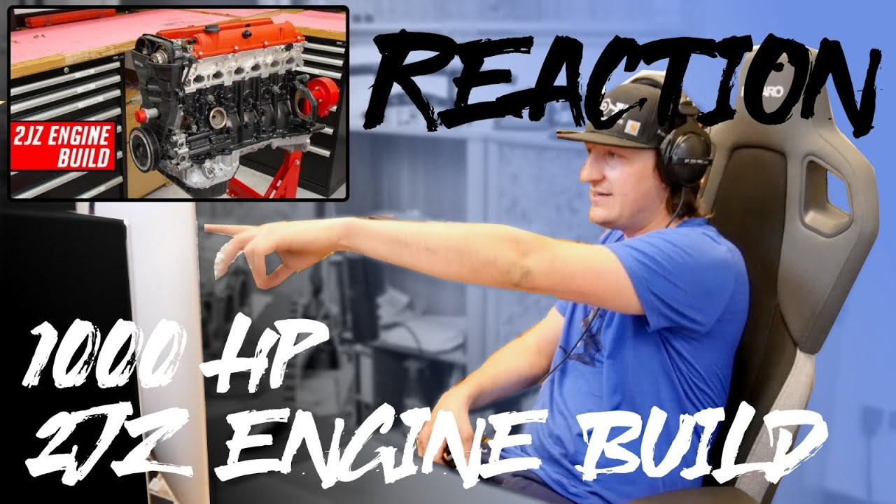 REACTION l Toyota 2JZ Engine Build - Full Start to Finish l Papadakis Racing