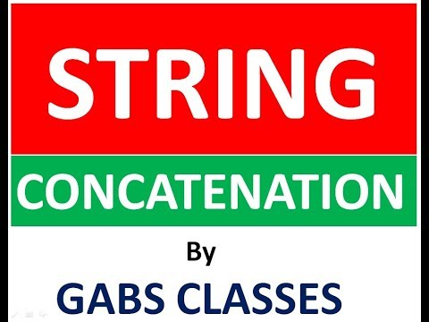 String Concatenation In C