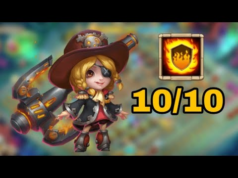 Commodora L 10/10 Flame Guard L She Is Back L Castle Clash