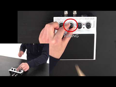 """""""Tuning and Effects (SPD::ONE PERCUSSION)"""" Roland SPD::ONE #06"""