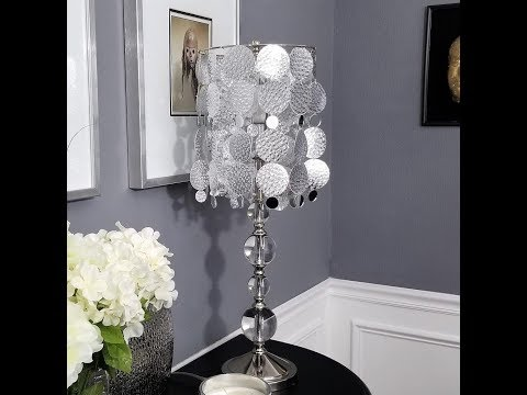Glam Lampshade DIY