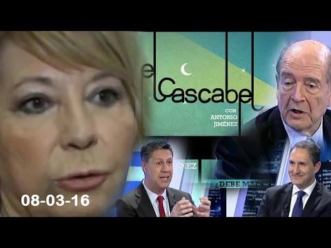 """El Cascabel 13tv 08/03/16 Villalobos a Sánchez:  """" Nos  Ha Tenido en un Circo de 7 Pistas"""""""