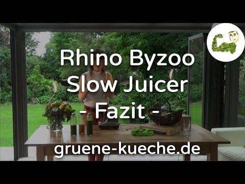 Rhino Byzoo Slow Juicer Zusammenfassung (Teil 55) YouTube