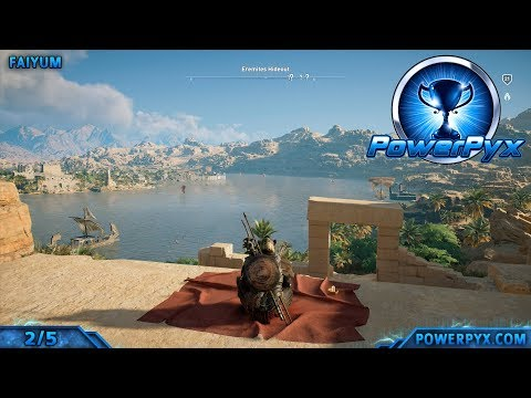 Assassin's Creed Origins - All Hermit Locations (Words of Wisdom Trophy / Achievement Guide)