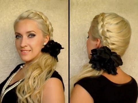 dutch braid tutorial party hairstyle