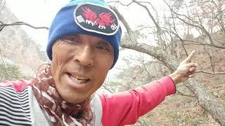 방랑카맨?아름다운 설악산 계곡에서 행복함-191111