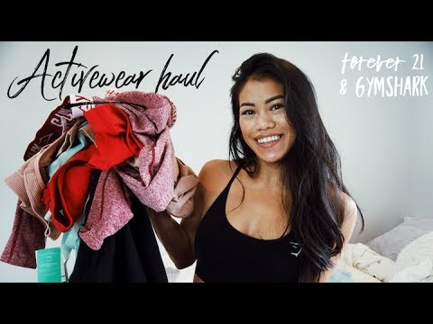 TRY ON HAUL | Forever 21 & Gymshark