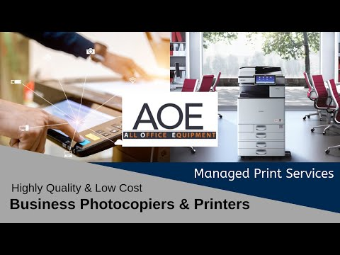 All Office Equipment - Printers & Photocopiers - Managed Print Services - Ireland