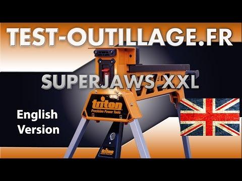 02 - TOOL REVIEW Superjaws XXL SJA 300 Triton Tools - English Version