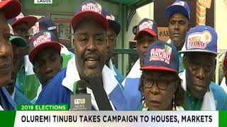 Download Video Oluremi Tinubu takes campaign to houses, markets MP3 3GP MP4