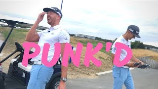 RYDER CUP PRANK ON ME & MY GOLF!