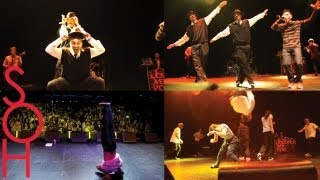 MALAKAI w SOH LIVE at Club Nokia Los Angeles! Dance, Parkour, Tricking!