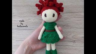 Вязание кукол крючком для начинающих: цветочный дух Мими