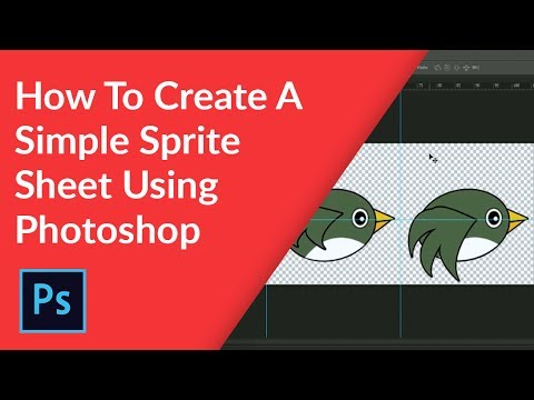 How to create a simple sprite sheet
