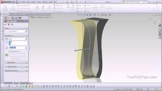 Solidworks - Modeling A Cabriole Leg (furniture)
