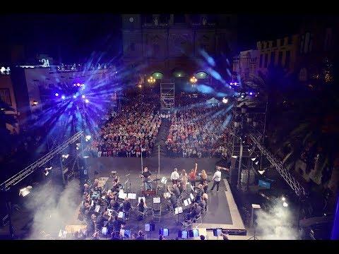 21º Festival TEMUDAS, Celebration, por la Banda Sinfónica de LPGC y Swing Star