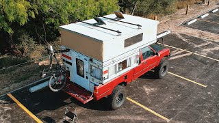 Four Wheel Camper Bronco On A Toyota Pickup Walk Around