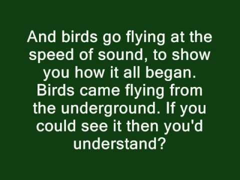 Coldplay - Speed Of Sound Lyrics