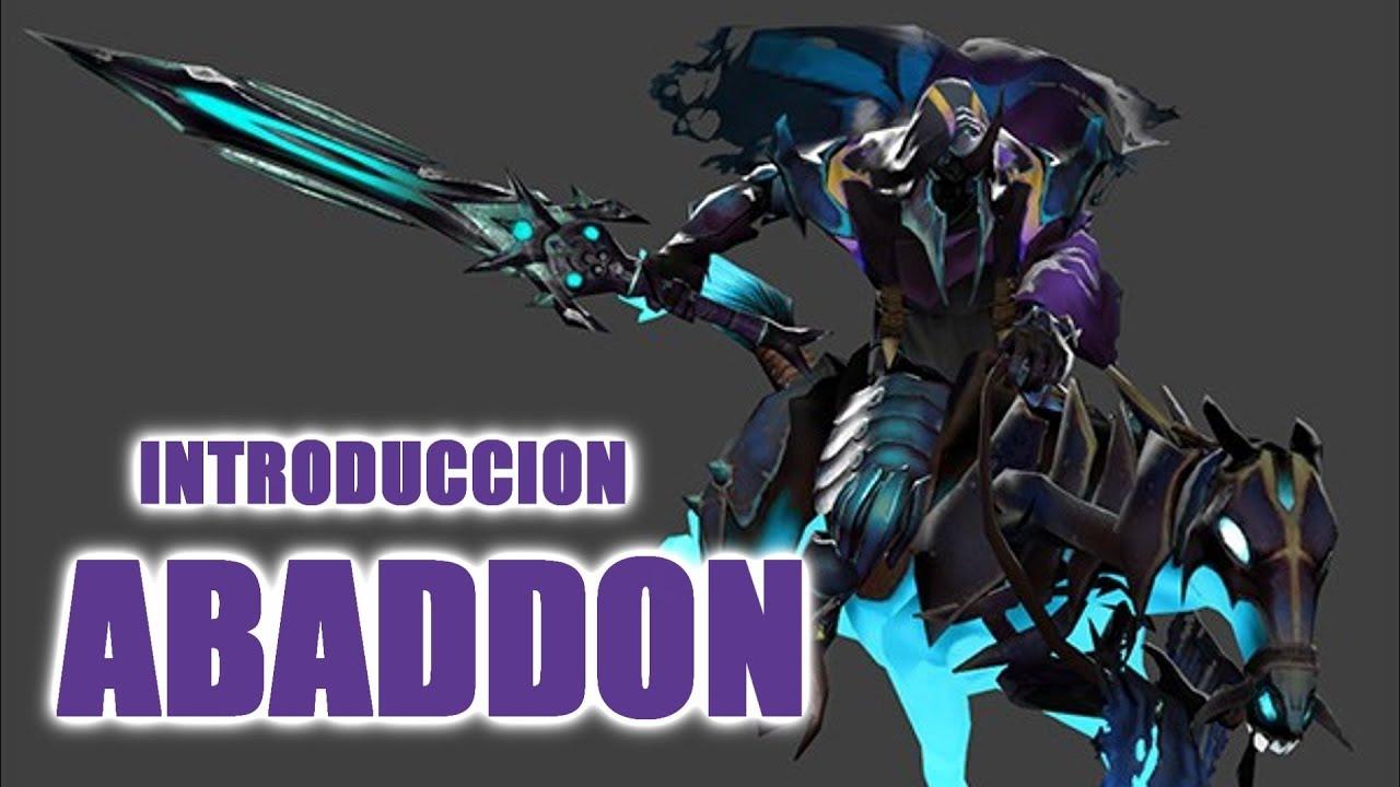 dota 2 abaddon introduccion del nuevo personaje youtube