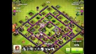 Clash Of Clans - (900k Loots) TH8 Best Farming Trophy Range.
