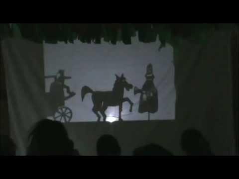 Les trois brigands - spectacle d'ombres par deux classes de CP poster