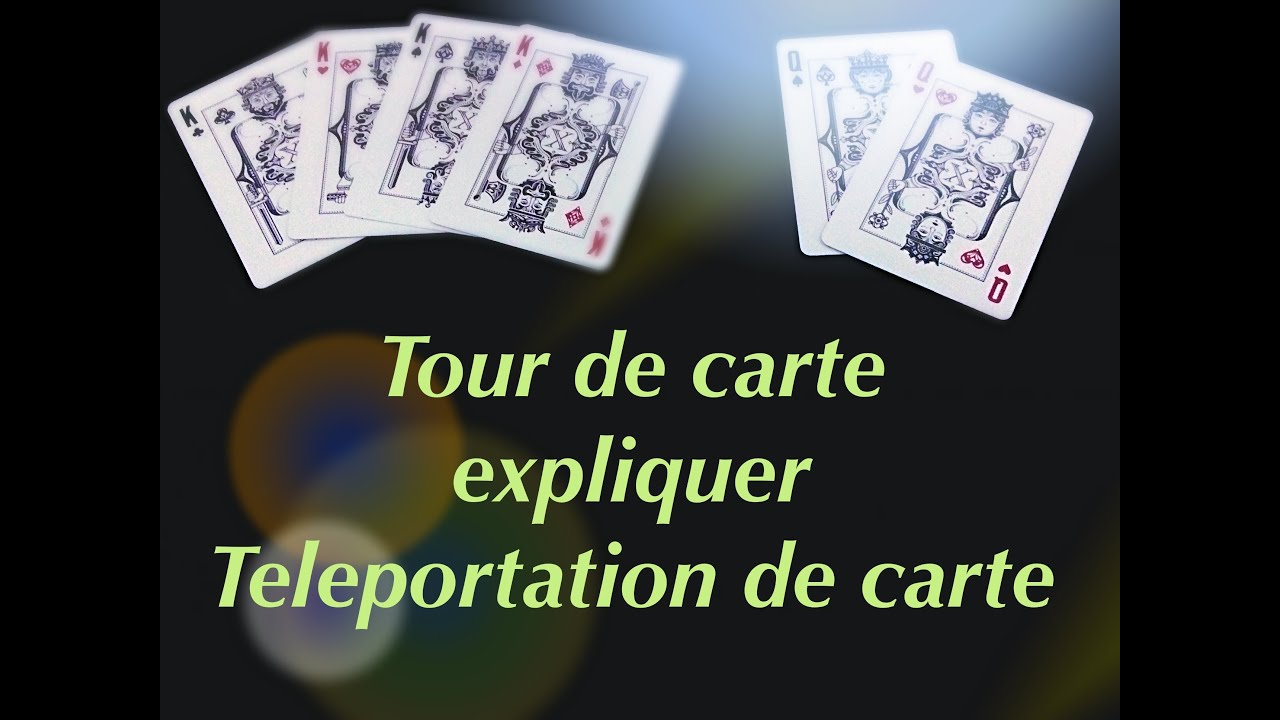 tour de magie carte teleportation