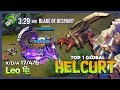 Brutal Damage Helcurt by L  eo     Top 1 Global Helcurt  No Fanny for Today     Mobile Legends