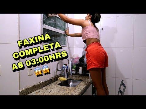 FAXINEI A CASA TODA DE MADRUGADA * Faxina Pesadona.