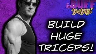 Big Huge Triceps Workout - Buff Dudes