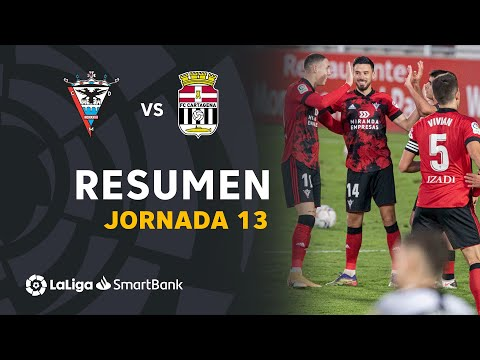 Mirandes Cartagena Goals And Highlights