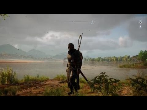 Assassinu0026#39;s Creedu00ae Origins Black Hood Outfit - YouTube