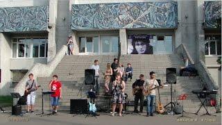 Концерт памяти В.Цоя . Дзержинск . 21.06.2016.