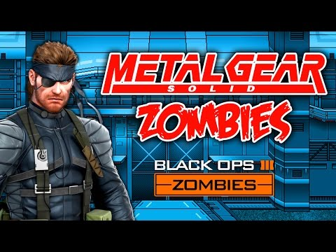 METAL GEAR ZOMBIES (Call of Duty Black Ops 3 Zombies)