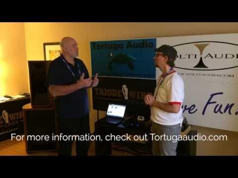Volti Alura, Triode Wire Labs, Tortuga Audio RMAF 2014