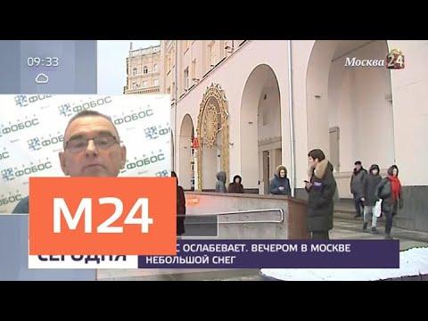 Синоптики рассказали о погоде в Москве 30 и 31 декабря - Москва 24