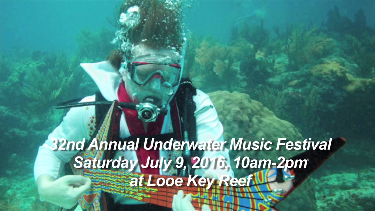 На листа на желби - Присуство на подводен фестивал