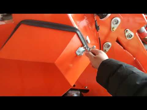 Checking everything of MS500 mini skid steer loader