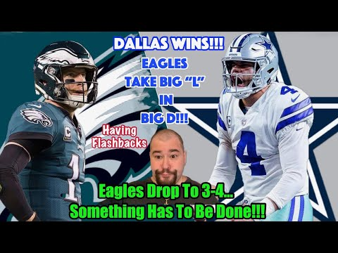 Eagles VS Cowboys | Recap | Triple Moonwalked By The Cowboys!!! | How To Fix It???