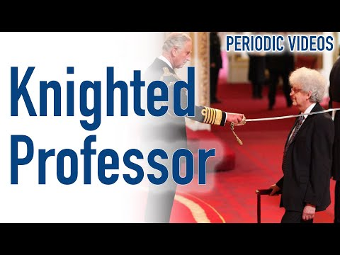 The Professor is knighted at Buckingham Palace