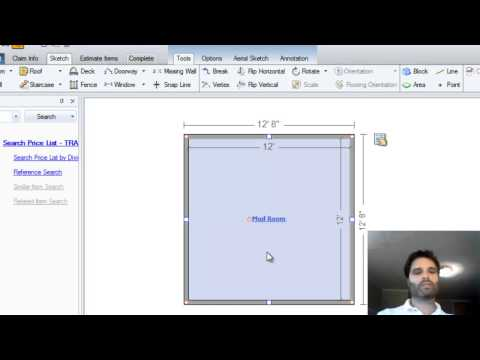 Learn Xactimate from Adam  Sketch rooms with multiple jogs