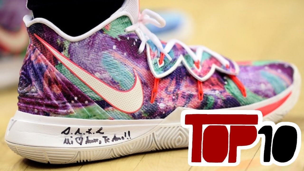 f20eaf5bb078 Top 10 Special Nike Kyrie 5 That Kyrie Irving Worn In 2019 - YouTube
